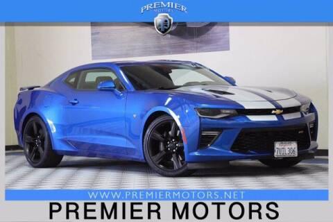 2016 Chevrolet Camaro for sale at Premier Motors in Hayward CA