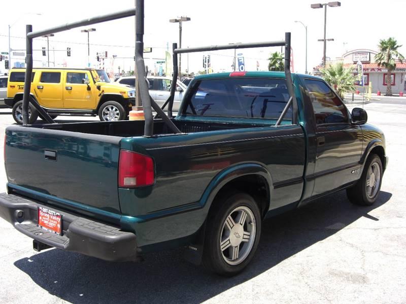 1998 Chevrolet S-10 2dr Standard Cab SB - Las Vegas NV