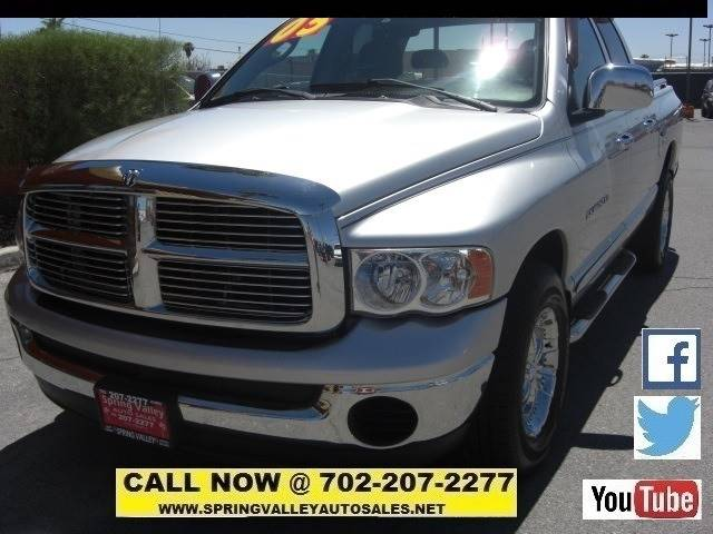 2005 Dodge Ram Pickup 1500 4dr Quad Cab SLT Rwd SB - Las Vegas NV