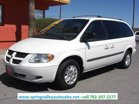 2002 Dodge Grand Caravan for sale in Las Vegas, NV