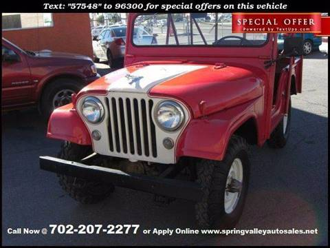 1957 Willys Jeep for sale in Las Vegas, NV