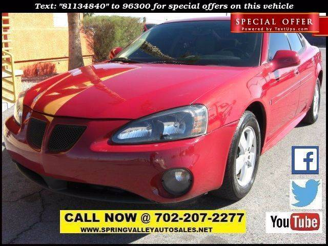 Used Cars in Las Vegas 2008 Pontiac Grand Prix
