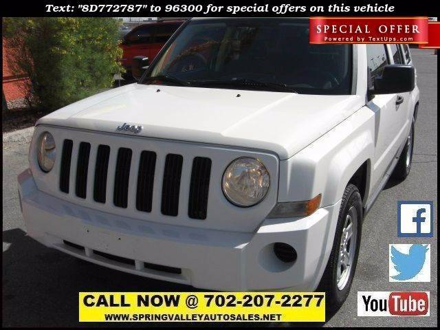 Used Cars in Las Vegas 2008 Jeep Patriot