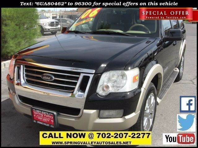 Used Cars in Las Vegas 2006 Ford Explorer