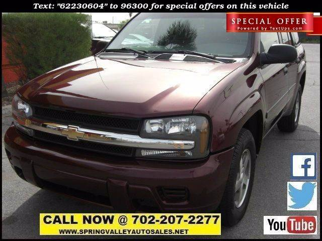 Used Cars in Las Vegas 2006 Chevrolet TrailBlazer