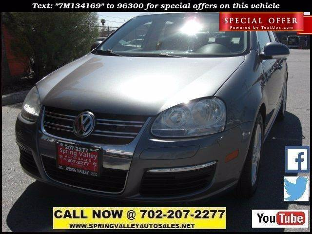 Used Cars in Las Vegas 2007 Volkswagen Jetta