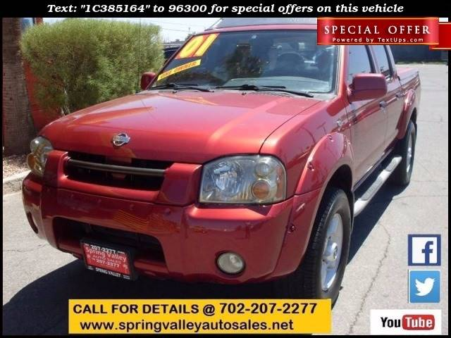 Used Cars in Las Vegas 2001 Nissan Frontier