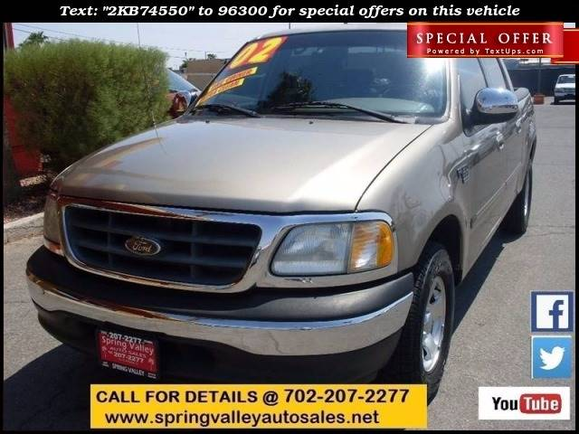 Used Cars in Las Vegas 2002 Ford F-150