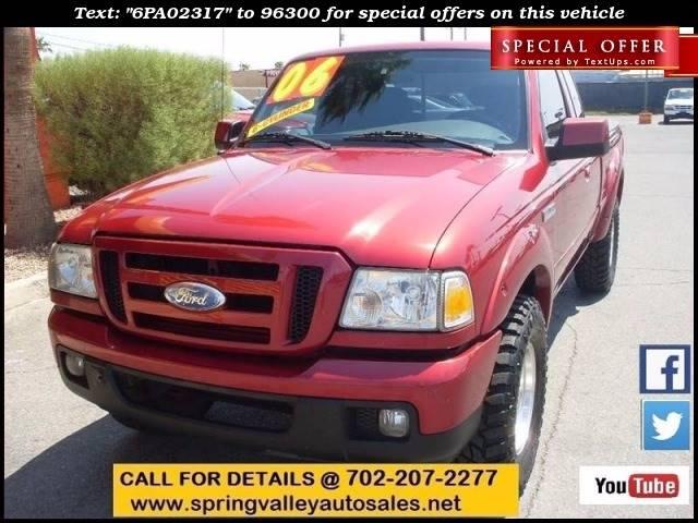 Used Cars in Las Vegas 2006 Ford Ranger