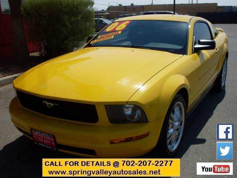 Used Cars in Las Vegas 2006 Ford Mustang