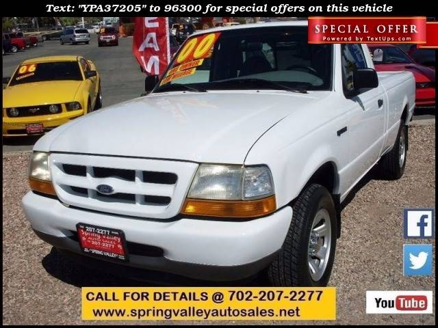 Used Cars in Las Vegas 2000 Ford Ranger