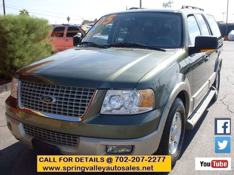Used Cars in Las Vegas 2005 Ford Expedition