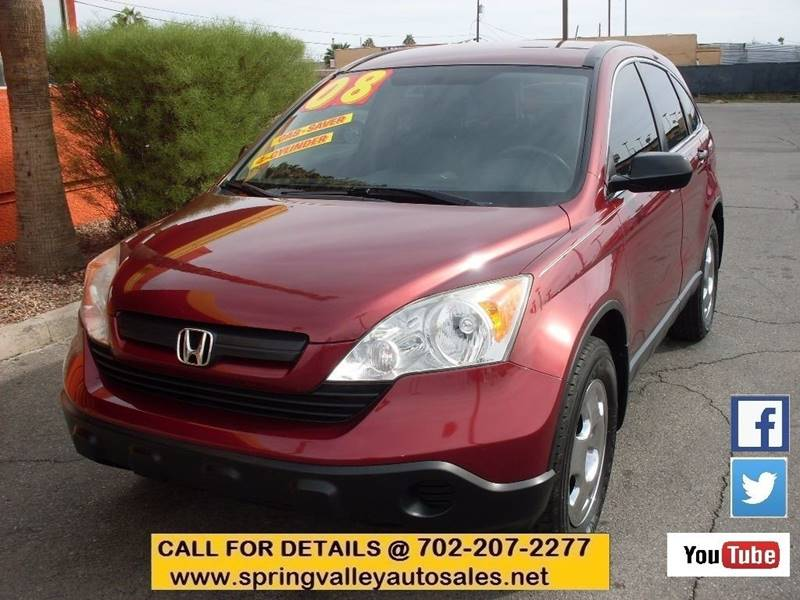 Used Cars in Las Vegas 2008 Honda CR-V
