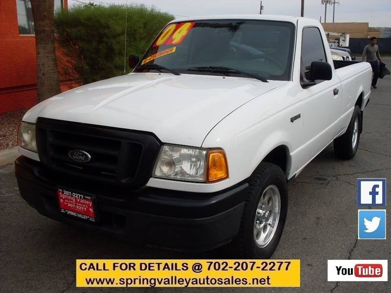 Used Cars in Las Vegas 2004 Ford Ranger