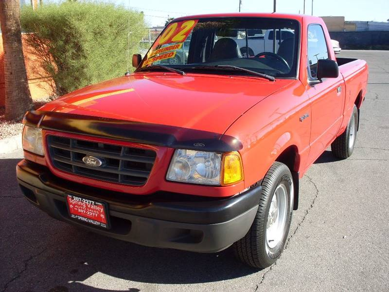 Used Cars in Las Vegas 2002 Ford Ranger