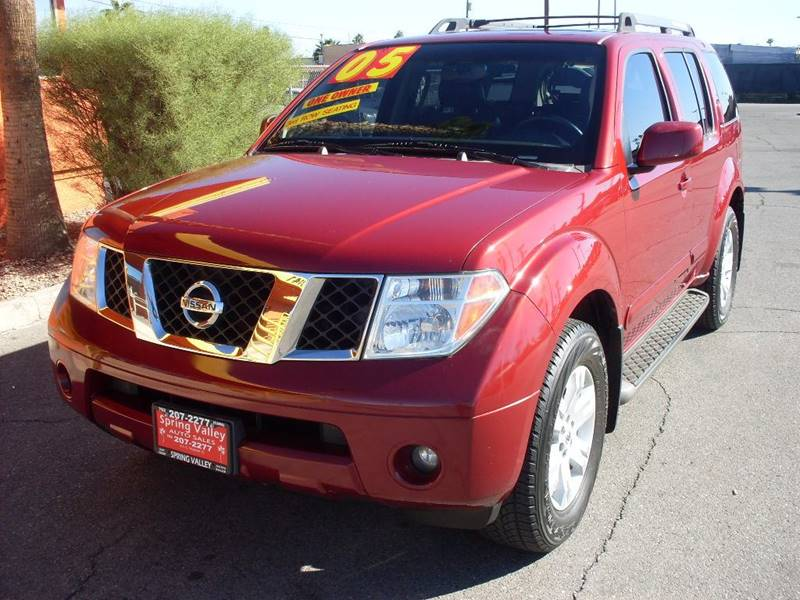 Used Cars in Las Vegas 2005 Nissan Pathfinder