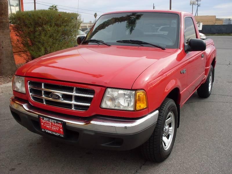 Used Cars in Las Vegas 2001 Ford Ranger