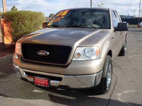 2006 Ford F-150 for sale in Las Vegas, NV