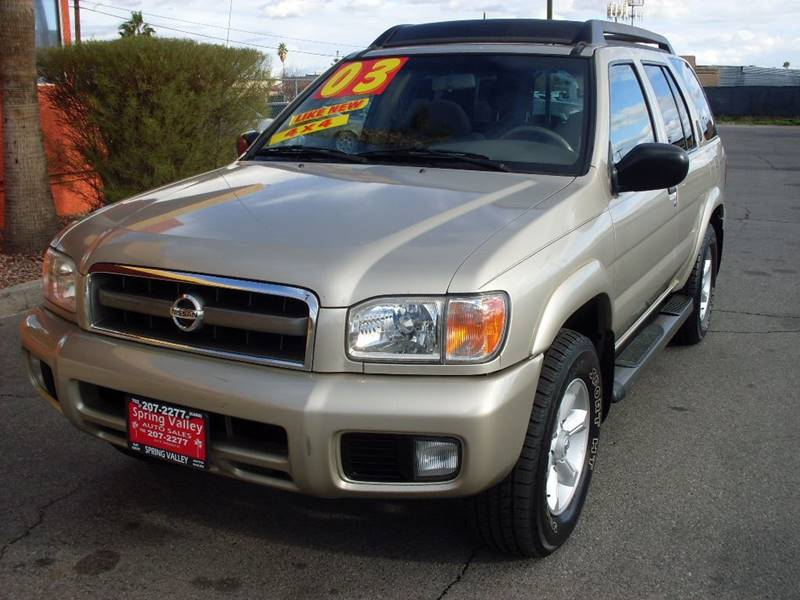 Used Cars in Las Vegas 2003 Nissan Pathfinder