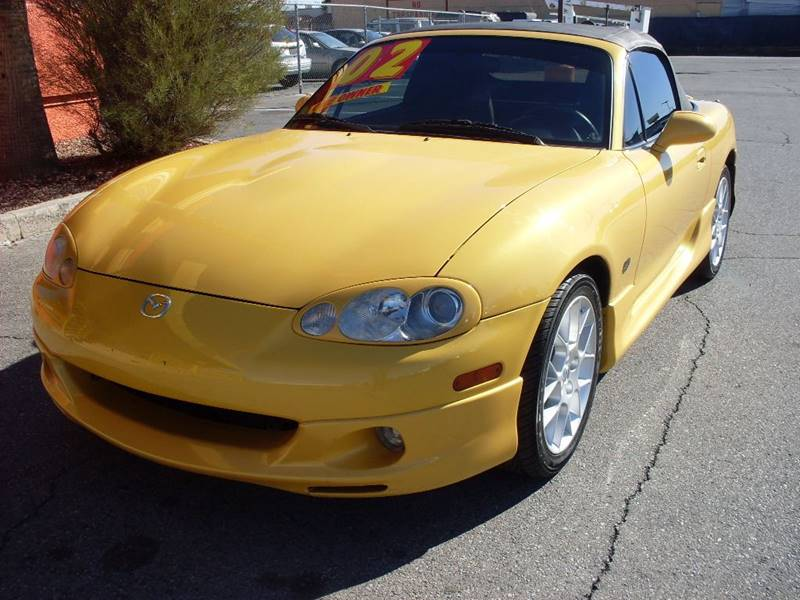 Used Cars in Las Vegas 2002 Mazda Miata