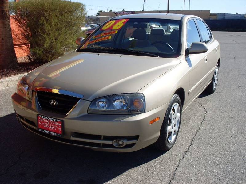 Used Cars in Las Vegas 2006 Hyundai Elantra
