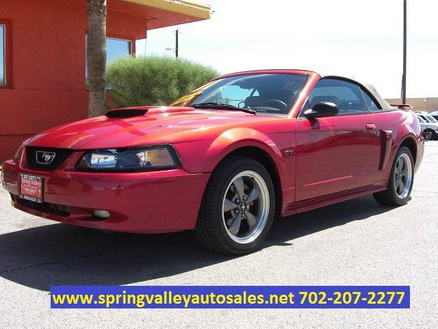 2001 Ford Mustang GT Deluxe 2dr Convertible - Las Vegas NV