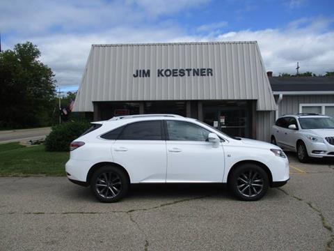 2015 Lexus RX 350 for sale at JIM KOESTNER INC in Plainwell MI