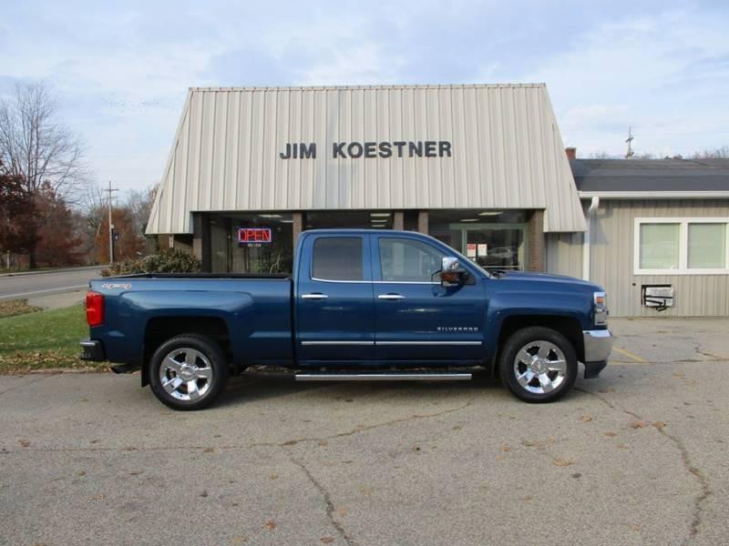 2016 Chevrolet Silverado 1500 for sale at JIM KOESTNER INC in Plainwell MI