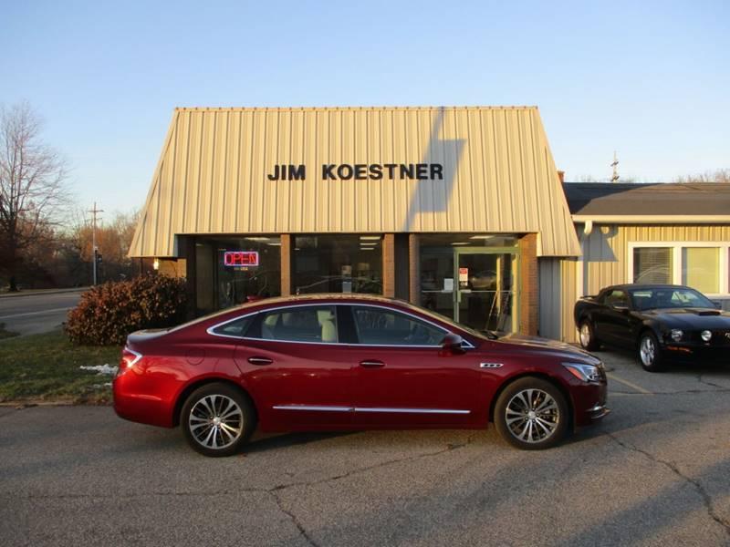 2017 Buick LaCrosse for sale at JIM KOESTNER INC in Plainwell MI