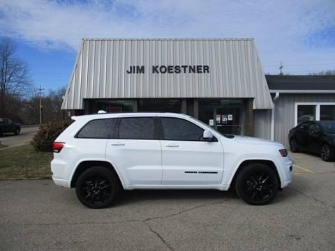 2017 Jeep Grand Cherokee for sale at JIM KOESTNER INC in Plainwell MI