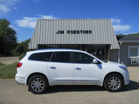 2017 Buick Enclave for sale at JIM KOESTNER INC in Plainwell MI