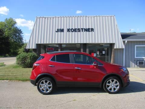 2018 Buick Encore for sale at JIM KOESTNER INC in Plainwell MI
