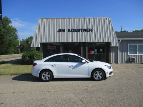2016 Chevrolet Cruze Limited for sale at JIM KOESTNER INC in Plainwell MI