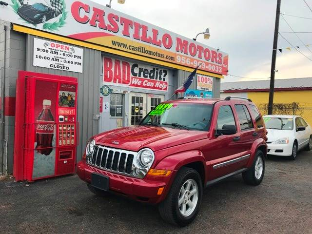 2007 Jeep Liberty Limited 4dr Suv In Weslaco Tx Castillo
