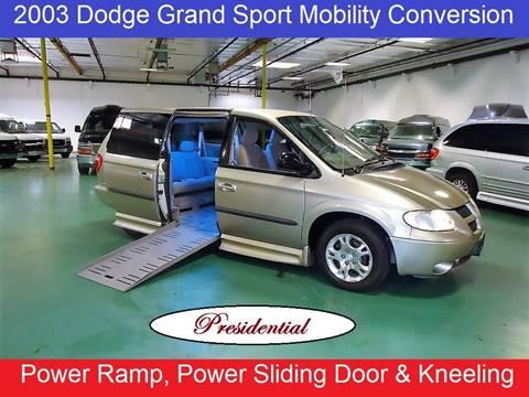 Car Dealerships In Summerville Sc >> 2003 Dodge Grand Caravan For Sale In Phoenix Az