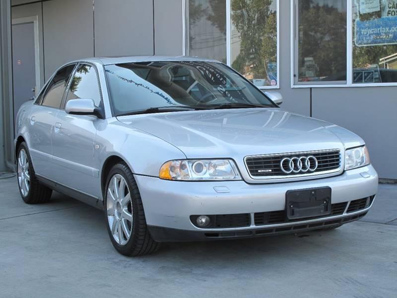 2001 Audi A4 Awd 18t Quattro 4dr Sedan In Tacoma Wa Tacoma Car Sales