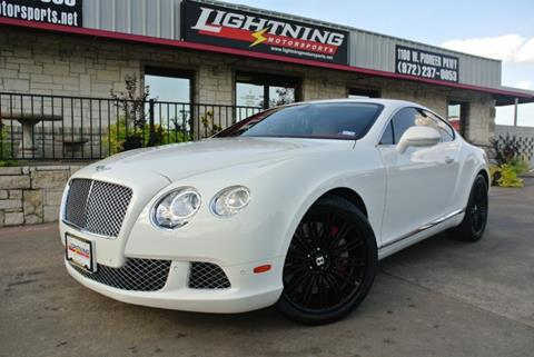 used bentley continental for sale in texas - carsforsale®