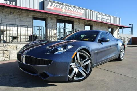 2012 Fisker Karma for sale in Grand Prairie, TX