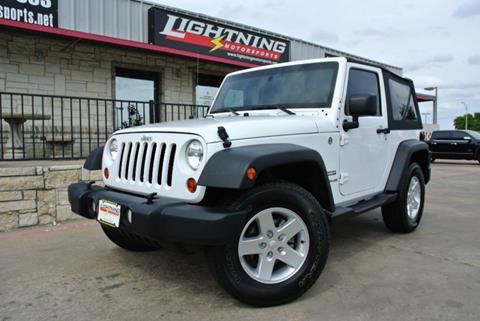 2011 Jeep Wrangler for sale in Grand Prairie, TX