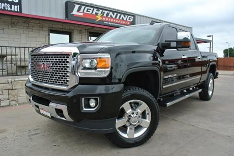 2016 GMC Sierra 2500HD for sale in Grand Prairie, TX