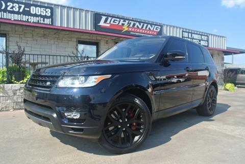 2016 Land Rover Range Rover Sport for sale in Grand Prairie, TX