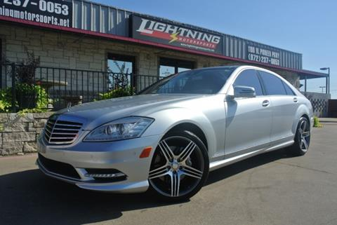 2013 Mercedes-Benz S-Class for sale in Grand Prairie, TX