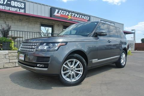 2014 Land Rover Range Rover for sale in Grand Prairie, TX