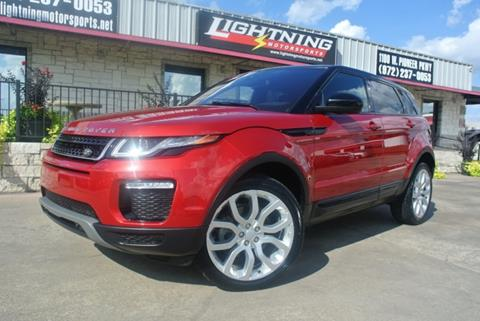 2016 Land Rover Range Rover Evoque for sale in Grand Prairie, TX