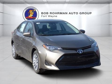 New Toyota Corolla For Sale In Fort Wayne In