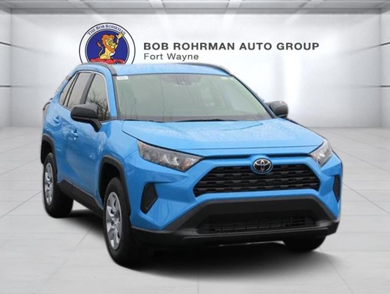 2019 Toyota Rav4 Awd Le 4dr Suv In Fort Wayne In Bob Rohrman Fort Wayne Toyota