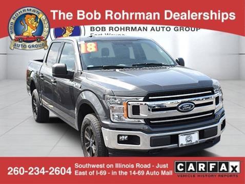 Bob Rohrman Ford >> Ford F 150 For Sale In Fort Wayne In Bob Rohrman Fort
