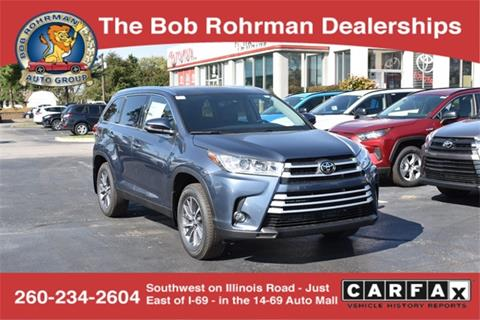 2019 Toyota Highlander for sale in Fort Wayne, IN