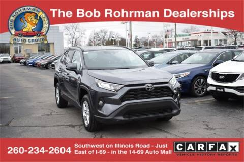 2019 Toyota RAV4 XLE for sale at BOB ROHRMAN FORT WAYNE TOYOTA in Fort Wayne IN
