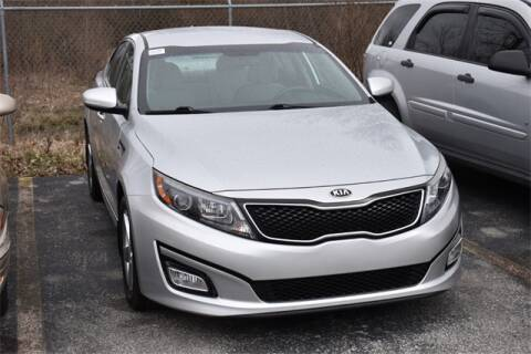 2015 Kia Optima LX for sale at BOB ROHRMAN FORT WAYNE TOYOTA in Fort Wayne IN